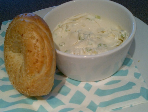 scallion cream cheese