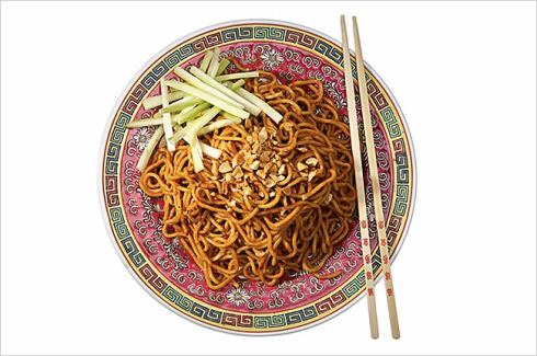 Take out sesame noodles nyt