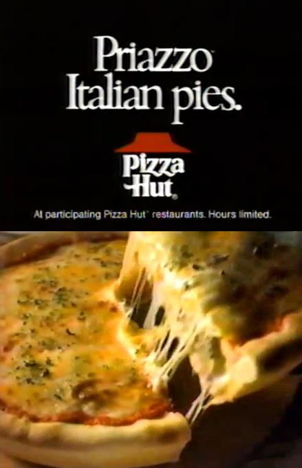 Double Pizza Decker Hut Pizza