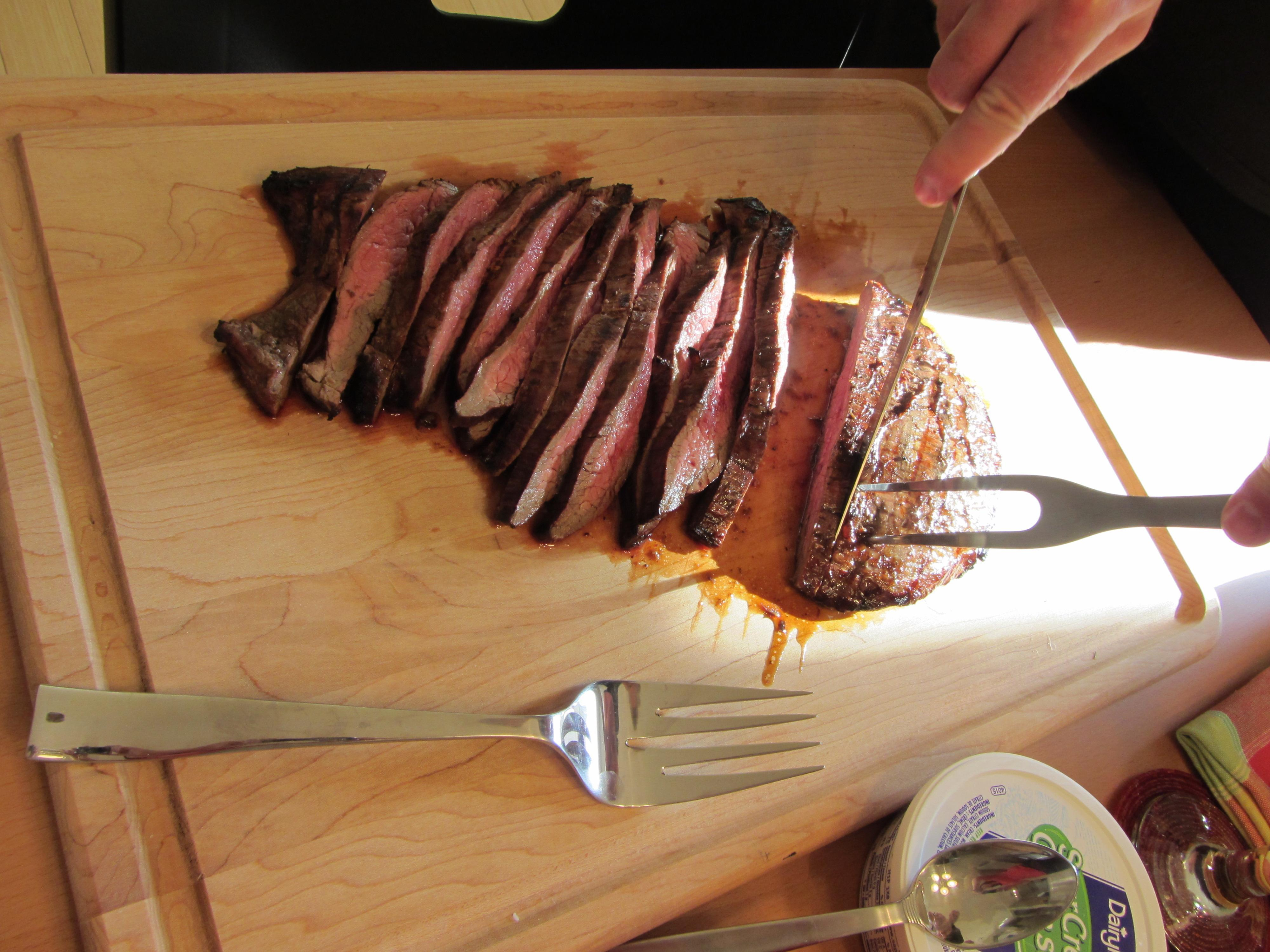 London Broil With Creamy Horseradish Sauce Recipes — Dishmaps