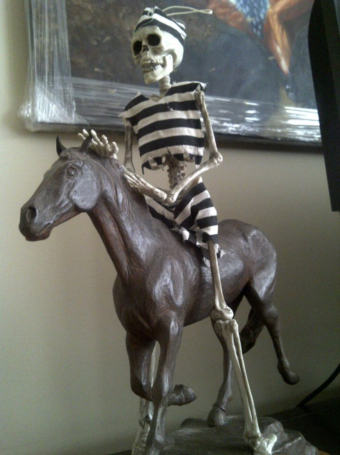 skeleton rides again