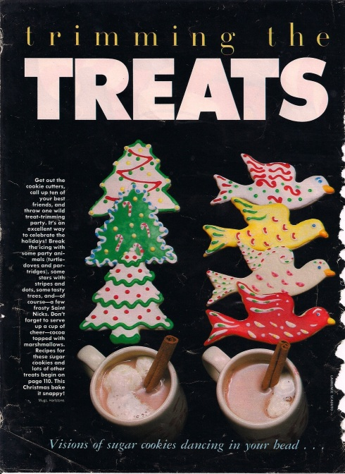 retro Seventeen magazine recipes