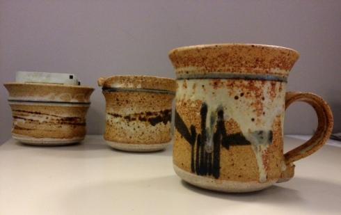 alberta pottery, connie and bob pike, retro pottery