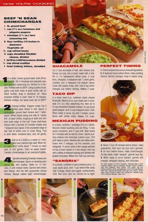 mexican menu 2
