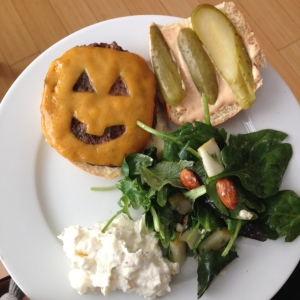 Saucy Cherie halloween burgers