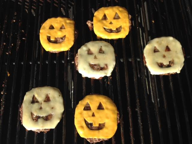 Halloween Hamburgers.Halloween Hamburgers Saucy Cherie