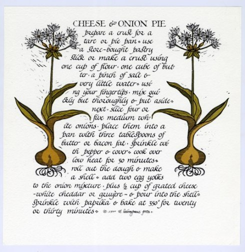 Image 1 - Cheese & Onion Pie